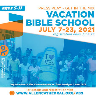 1080x1080, Vacation Bible School 202107.