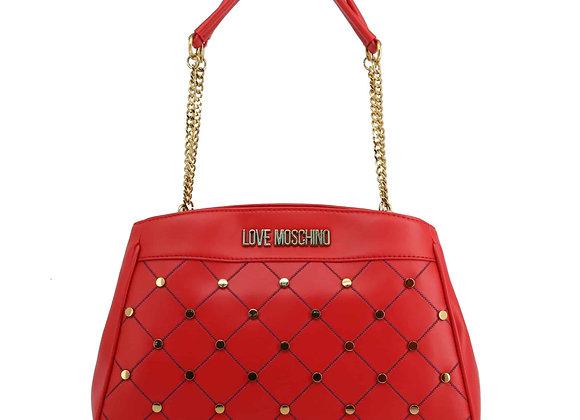 Sac porté épaule Femme Rouge Love Moschino
