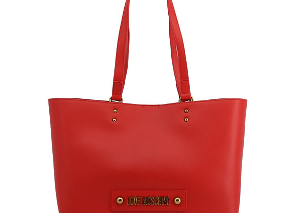 Cabas Femme Rouge Love Moschino