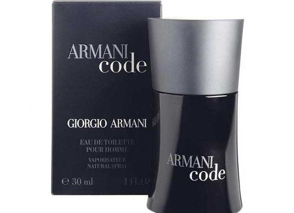ARMANI CODE POUR HOMME edt spray 30 ml