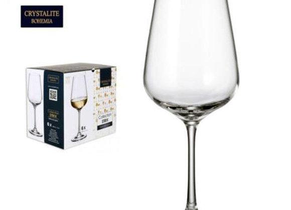 Set 2 verres en cristal 350ml Bohemia