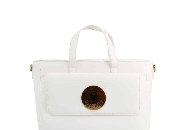 Sac à main Femme Blanc Love Moschino