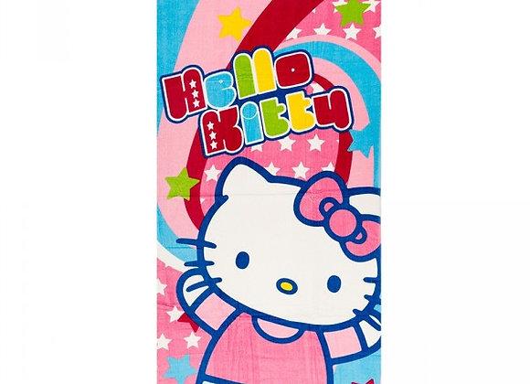 Drap de plage coton Hello Kitty