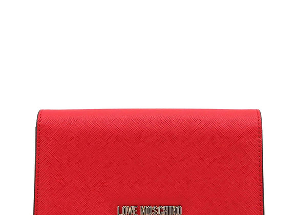 Portefeuille Femme Rouge Love Moschino