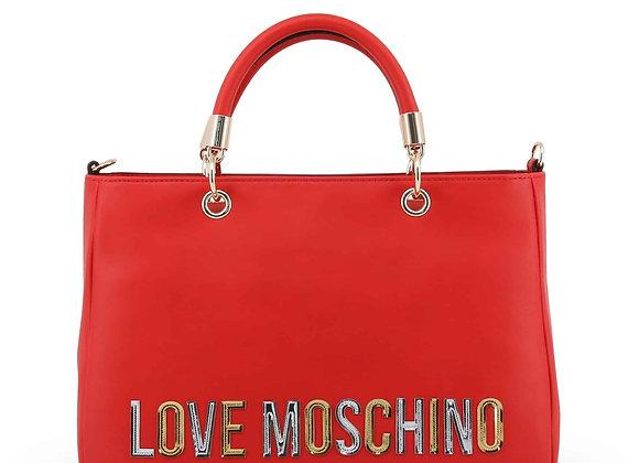 Sac à main Femme Rouge Love Moschino