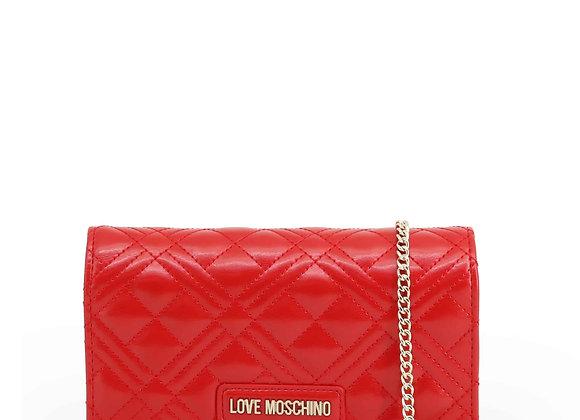 Pochette Femme Rouge Love Moschino