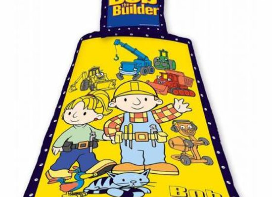 Bob the builder parure de lit