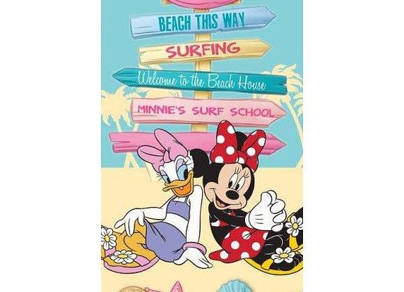 Drap de plage Minnie et Daisy Disney
