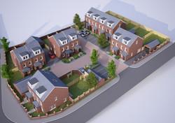 housing development of 12 units