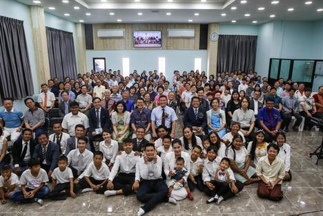 태국 참사랑교회 헌당예배