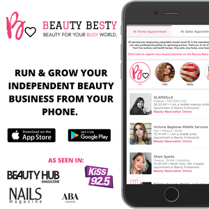 Find and book independent beauty service professionals on the Beauty Besty App.