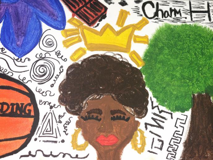 Black Girl Blossom - Charm Hazelwood
