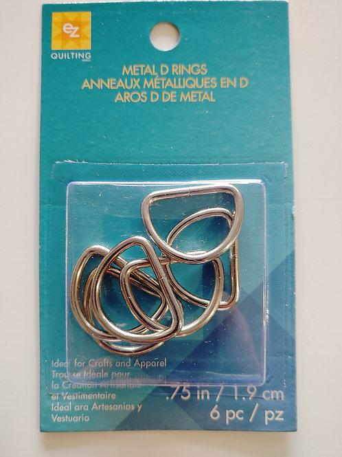 0.75 D-Rings