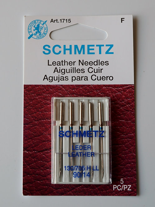 Needles for leather (set of 5)