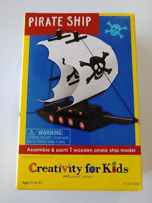 Pirate Ship Model Kit