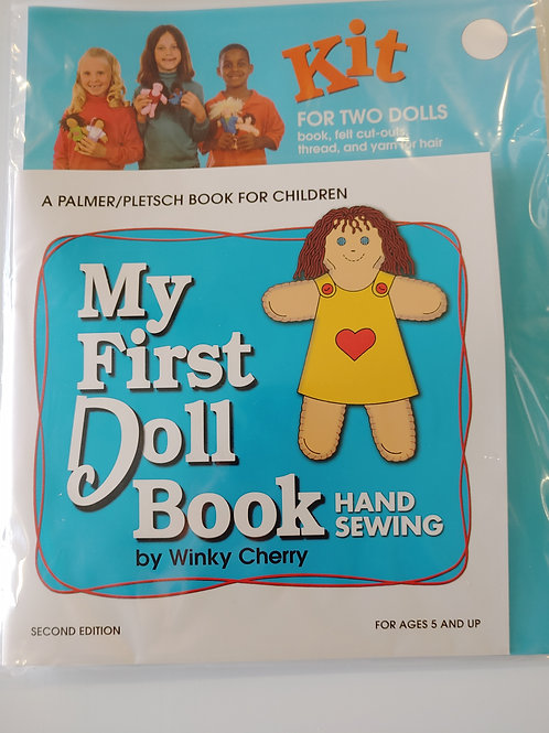 My First Doll Hand Sewing Book Kit