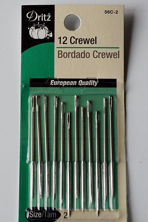 Crewels (set of 12)