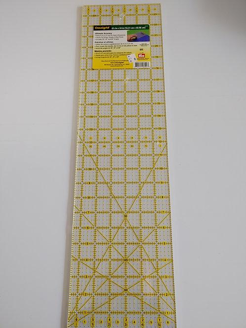 """Omnigrid 24"""" x 6.5"""" ruler"""