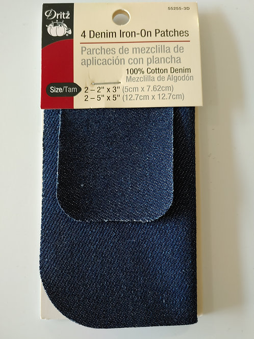 Denim Iron-On Patches