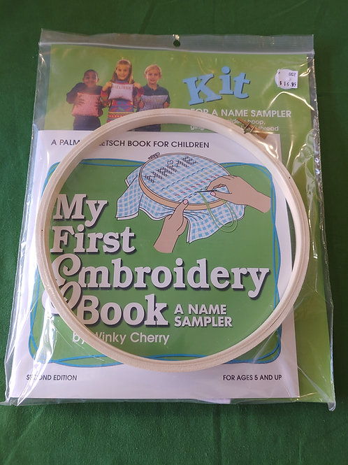My First Embroidery Book Kit