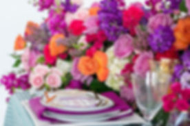When the table setting is majestic,it makes weddings and events more special. It's all in the detail