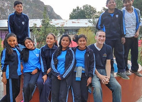 volunteer in a rural school in the Andean Mountains of Peru. Teach English as a second language