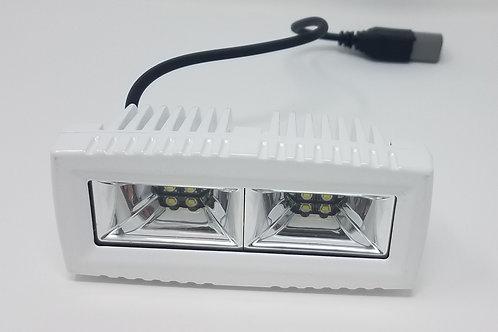 White 40W LED Spreader Light 4 Inch LED Light Bar Scene Light