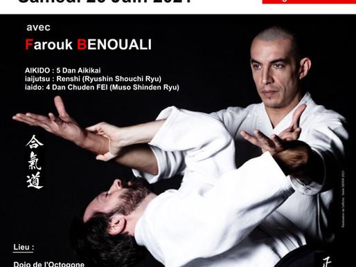 Stage Farouk BENOUALI  ✨🚀  Samedi 26 Juin 2021