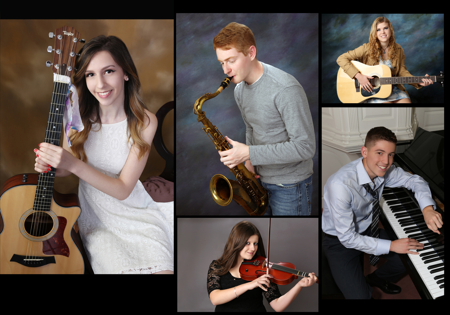 Music Inspired Senior Portraits