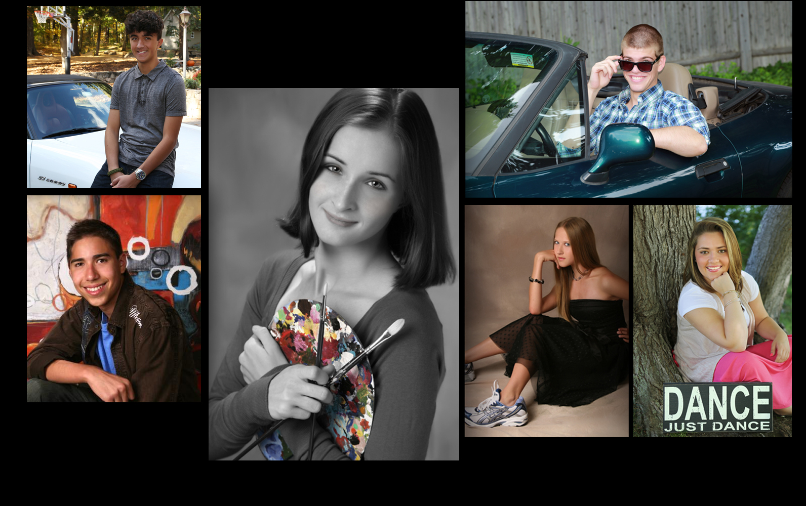 Hobbies Inspired Senior Portraits