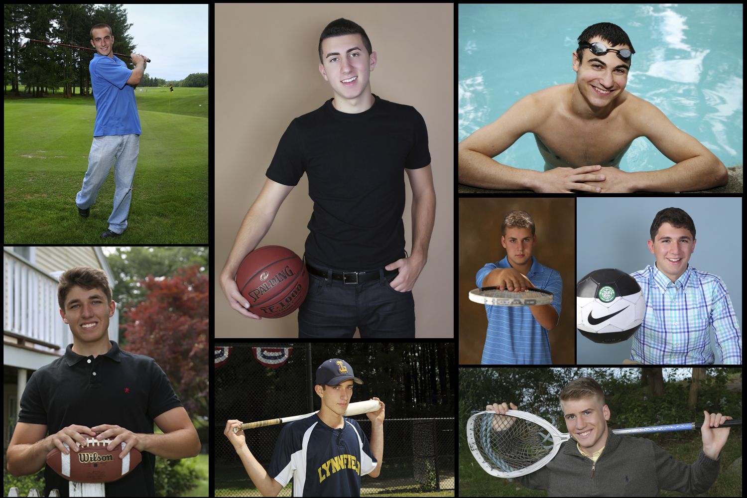 Sports Inspired Senior Portraits