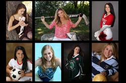 Sports Inspired Senior Portraits