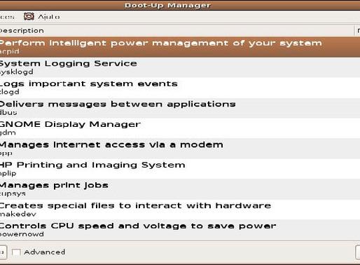 Configuración del sistema LINUX.