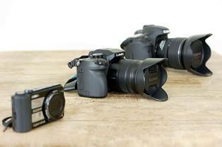 ¿Conoces las diferentes cámaras fotográficas digitales?