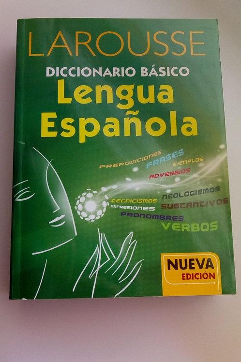 Diccionario Larousse básico. Lengua española