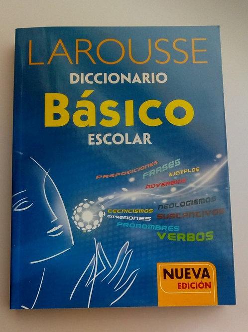 Diccionario Larousse básico escolar