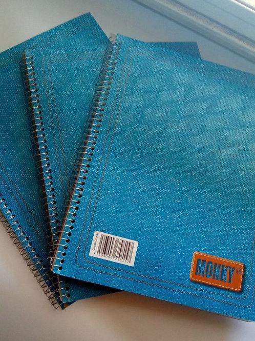Cuaderno Monky de 100 hojas.