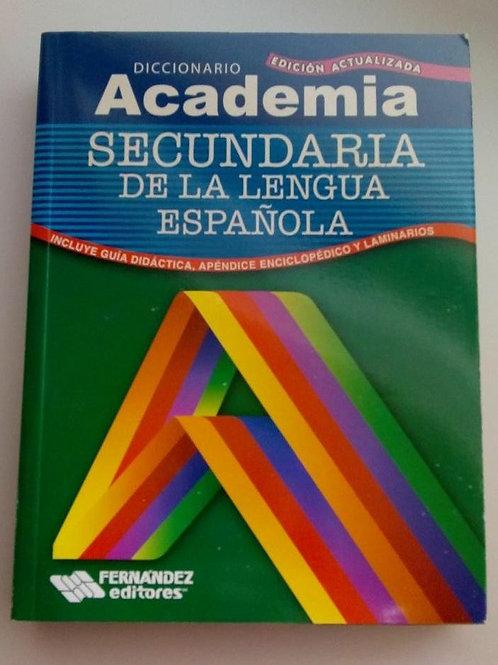Diccionario Academia. Secundaria de la lengua española