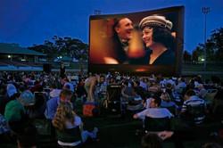 superstar entertainment outdoor movie movies theater nj fun party dj karaoke new jersey