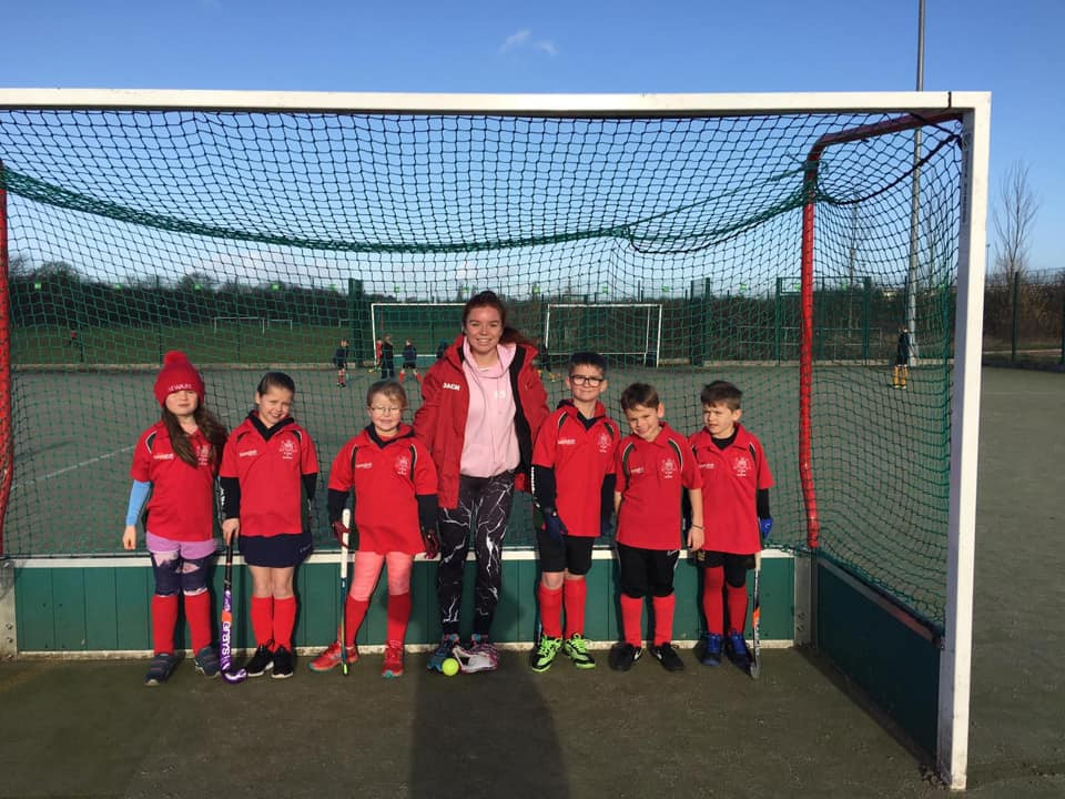 Newark U8s and Coach Rosie