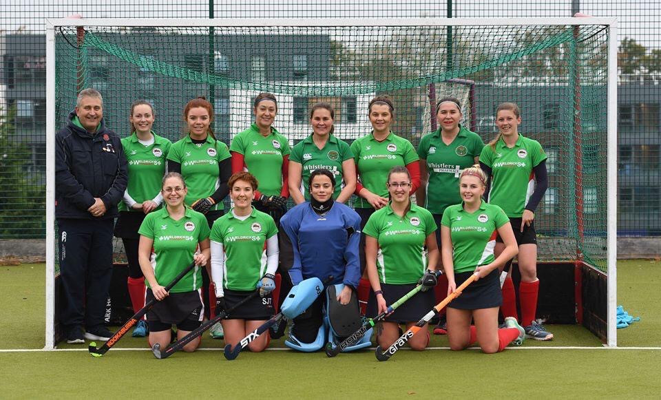 Ladies 1s side a few weeks ago at Loughborough