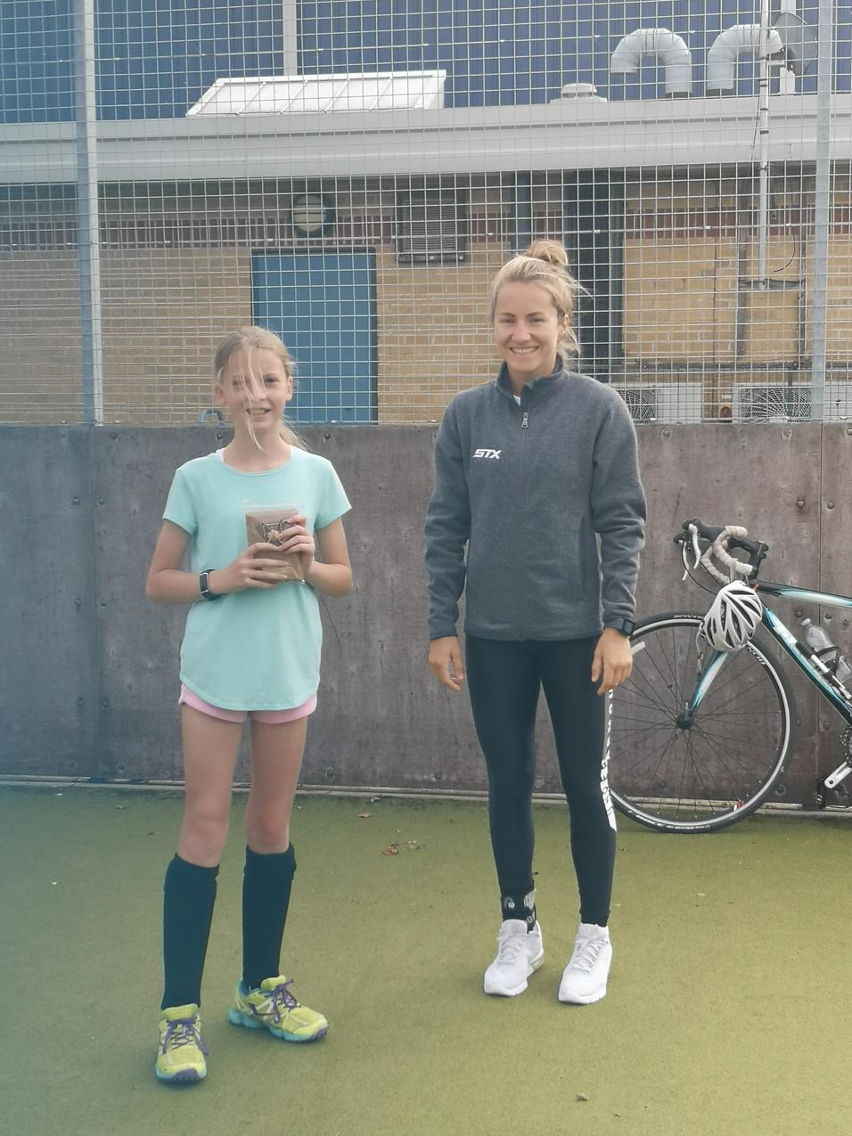 Scarlett U12 coaches award
