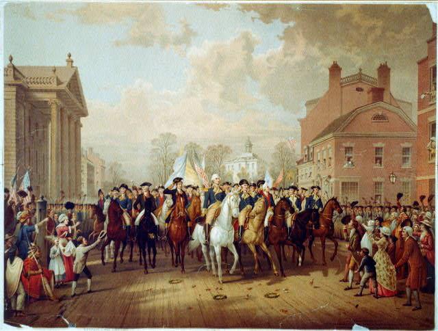 George Washington, Evacuation Day