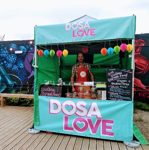Dosa Love at Grub Plant Powered Sundays
