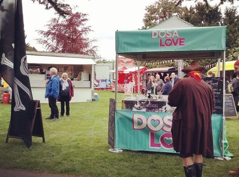 Dosa Love at Belper Art Trail