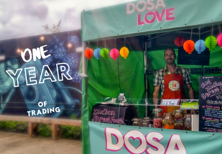 One year of trading as a Dosa Love
