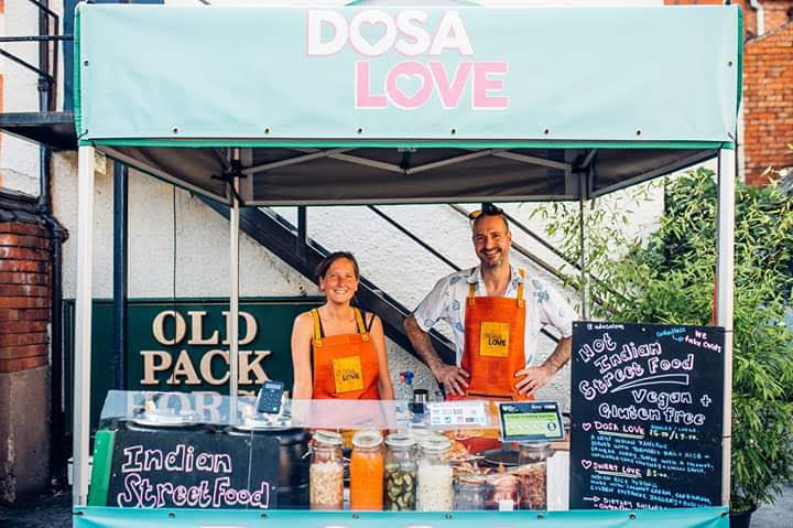 Dosa Love at The Organ Grinder in Loughborough
