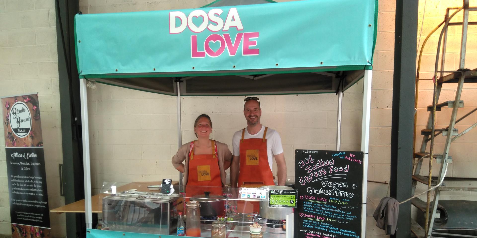 Dosa Love at The Bus Depot