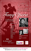 TangOpera Returns to The Crazy Coqs Live at Zédel, feat. Leonardo Pastore