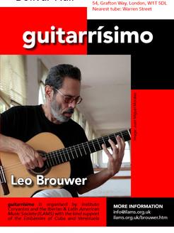 Leo Brouwer Comes to guitarrísimo!